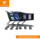 supermarket kids trolley super market shopping mall cart metal shopping supermarket cart for children