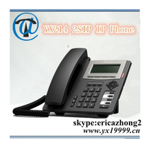 YX 2 lines grandstream 2 sip voip phone support POE IAX2 line call ip video door phone yx214