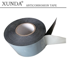 0.8mm thickness modified bitumen cold applied adhesive tape for sale