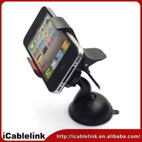 universal car holder for iPhone 5/4S/4 Smart Phone Mp3/4 PDA GPS,BLACK multiple mobile phone holder for car