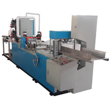 Counting napkins paper folding machine