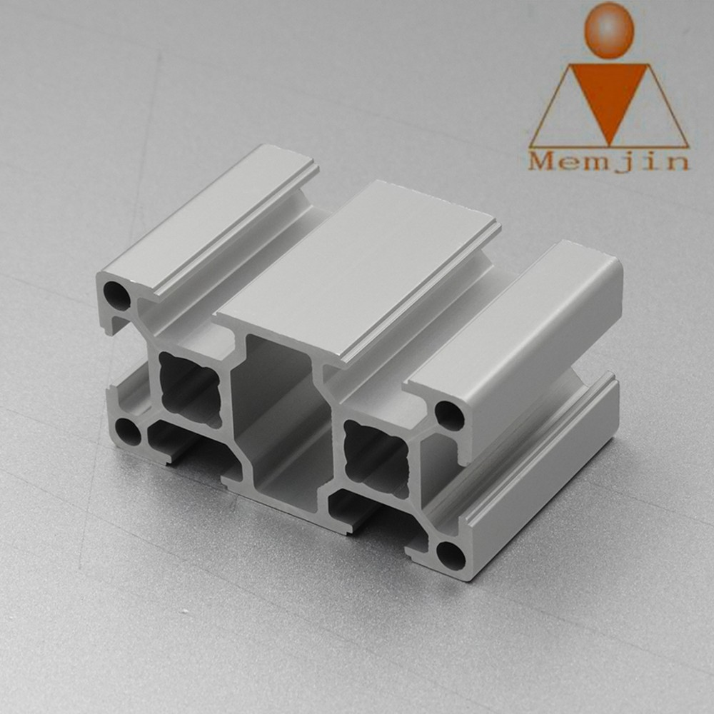 Aluminium Profile 6063 T5 6000 Series Extruded Aluminum Profile Rail , Aluminum Rail Profile