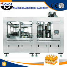 Automatic salad jam and juice filling machine production line