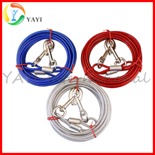Long Run Chain Leash Dog Tie Out Cable