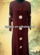 Latest Qatar Abaya & Thobe Design with Fashion Embroidery
