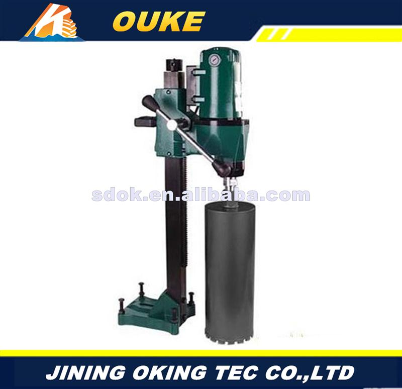 Plastic,core sample drilling rig,lightweight portable handheld core drill machine,diamond disc