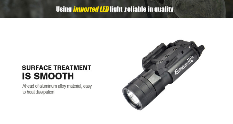 New Product BOB-JG-2A 420 Lumen Light Universal Picatinny Rail Mount, Black