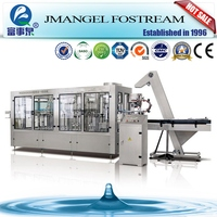 Alibaba Fostream complete auto aerated water filler machine