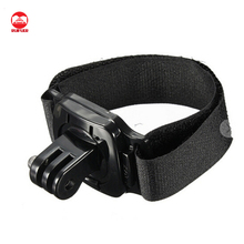 360 Degree Rotatable Camera Wrist Strap Band Holder Cycling Mount For Go Pro 1 2 3 3+ 4/4 Session