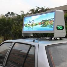Waterproof Outdoor Double Side LED Taxi Proof Advertisement Sign Display