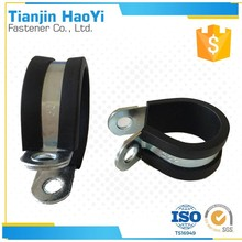 turbo cable clamp with Steel metal p clip