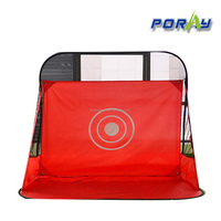Poray Golf Practice Hitting Net Cage Driving Net Set Mat Chipping For Outdoor Activity