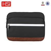polyester front pocket fit for 13.3inch laptop sleeve bag