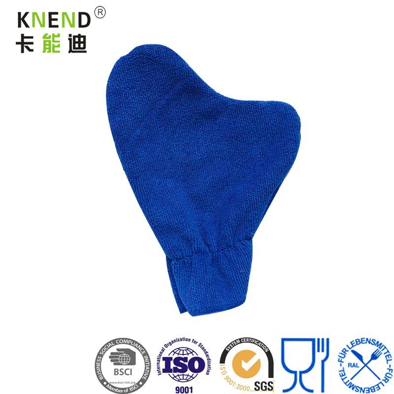 microfiber towel glove for car cleaning