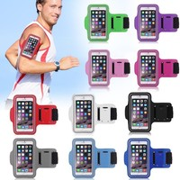 Wholesale Premium Phone Armband Gym Running Sport Arm Band Protective Cover Case For iPhone 6 Hgih Quanlity Cheap