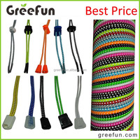 No Tie / Tie Free Elastic Shoelaces Lock Shoe Laces Strings Round Great for Running Shoes