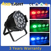 Small size led aluminum flat par can light series night party light