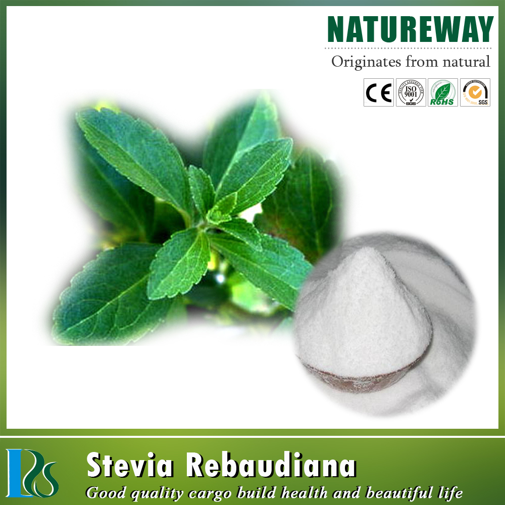 Natural 40%~97% Reb A Powder Stevia extract Reb A