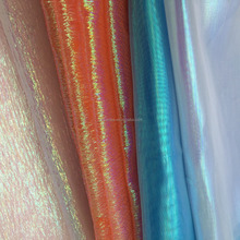 Rainbow organza for dresses
