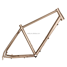 China 700c titanium road bike frame titan gravel bike frame