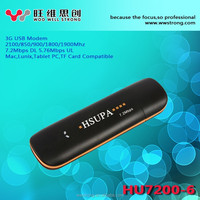 7.2Mbps Qualcomm 7200 chipset Gprs Gsm Hsupa 3G usb dongle