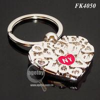 New York Souvenir Keychain