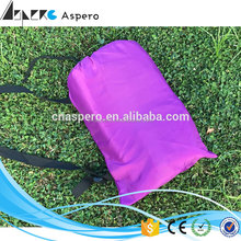 Air Sofa Low Price Bean Bed Lazy Bag inflatable sleeping bag with pillow headrest