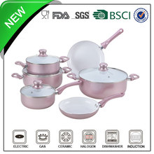 10pcs Easy cleaning cheap Unique design top selling Nano cookware
