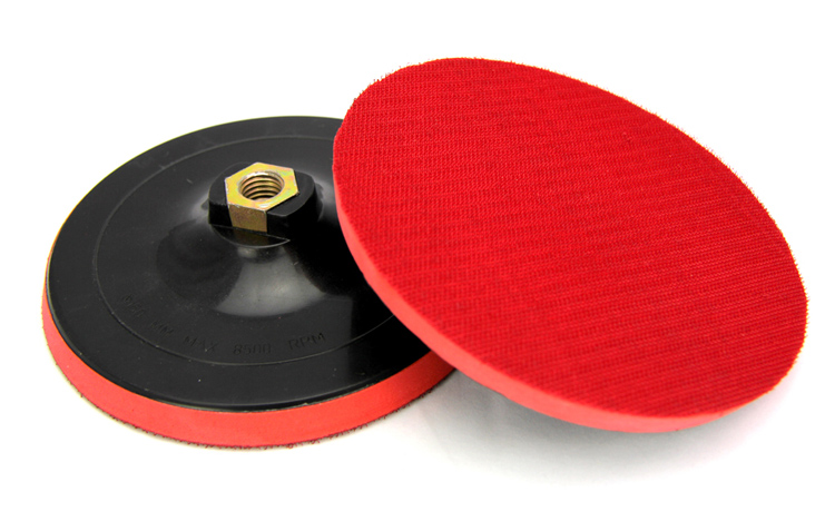 7 inch Plastic Rotary Hard Backing Plate Polishing Pads