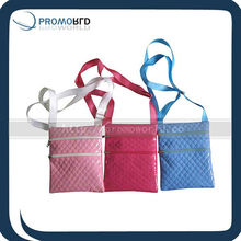 Shining PVC shoulder bag Long handle pocket bag Kids shopping bag