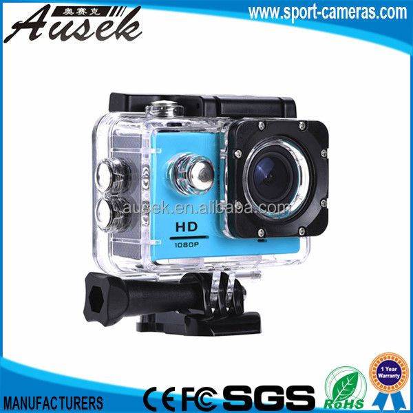 portable Mini sport pro action cam 1080P Extreme video camera waterproof 30 m