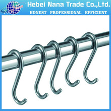 Hebei supplier hot sale multi-function chrome s hook