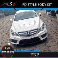 High performance PD 550 style body kit FRP& Carbon fiber for Mercedes benz E-coupe W207 C207