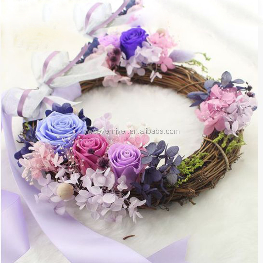 Eternal rose garland Creative Valentine birthday gift Christmas ornaments car factory direct wholesale
