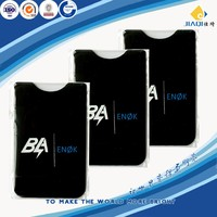 lycra silicone card holder for mobile phone