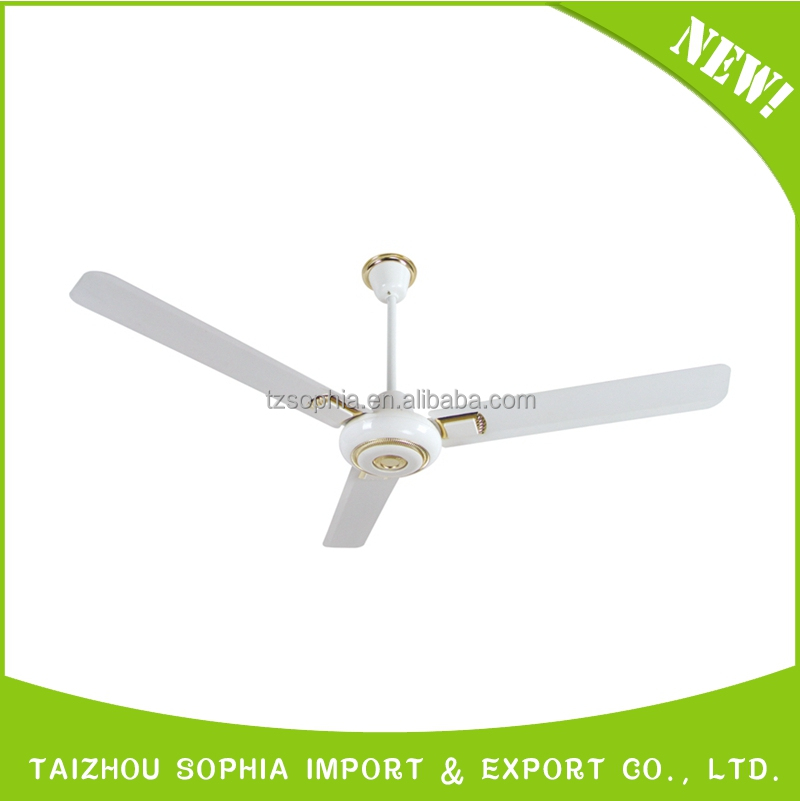 "Alibaba express good quality 56"" industrial ceiling fan with 3 blade"