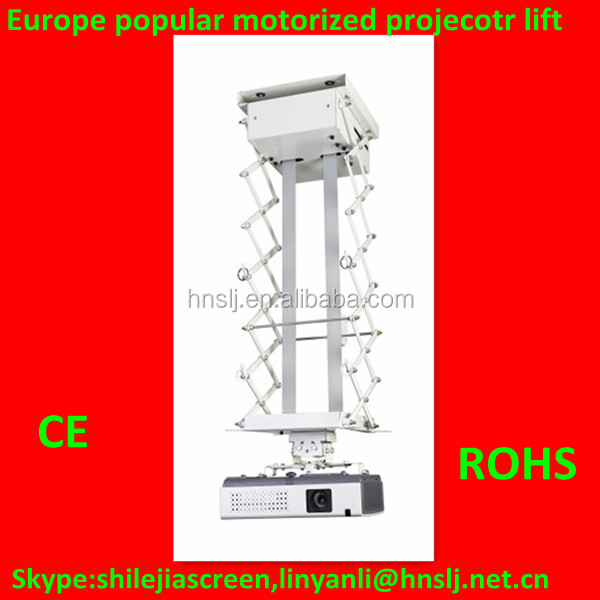 Hot selling!!!2015 Europe Popular Double motors control Ceiling projector lift(ISO,CE,ROHS)