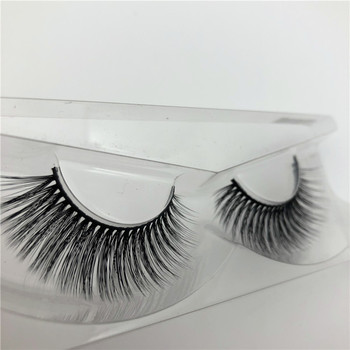 3d mink lashes private label false eyelash handmade 3D real mink fur lashes