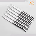 Manufacturer Supply 6 pieces stainless steel laguiole steak knife set