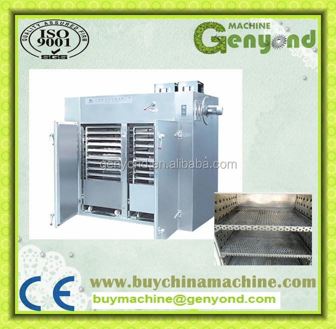 hot air circulation cassava chip drying machine