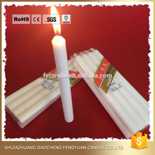 10pcs Home Decorative Candles Red white Yellow Smoke-free Wedding Candle Daily Lighting Wax Candles