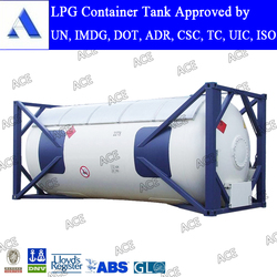 20ft 40ft lpg gas tank container for sale