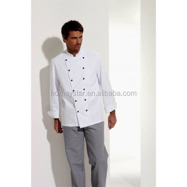 customized white chef cook uniform and workwear