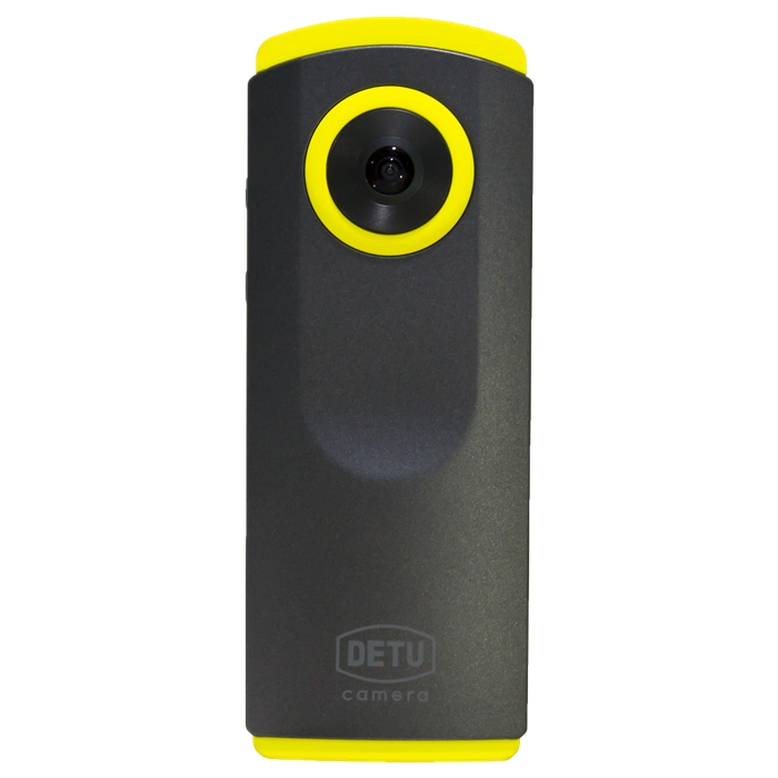 Hot sales wifi dual lens portable DETU 360 action camera