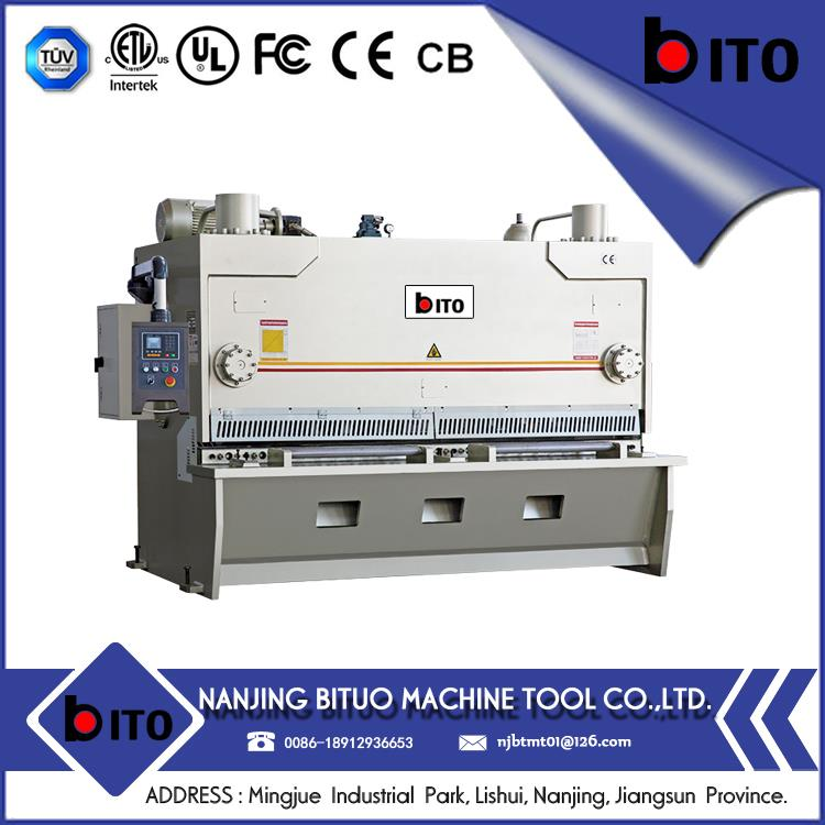 NJBTMT- iso certificate approved good repeated yangli shearing machine