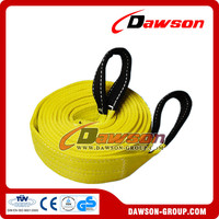 Dawson Heavy Duty Polyester Tow Strap with High Quality China Supplier