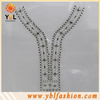 cheap Metal Studs rhinestone neck trimmings for Women Clothing