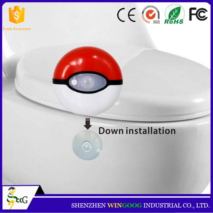 Lowest price Motion Activated Top Light Bowl Led Toilet Night Light