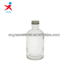 8oz CLEAR APOTHECARY GLASS BOTTLE