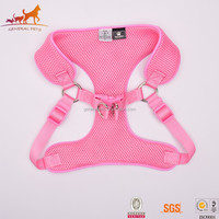 Comfortable Pink Dog Leather Harness Manufacturers